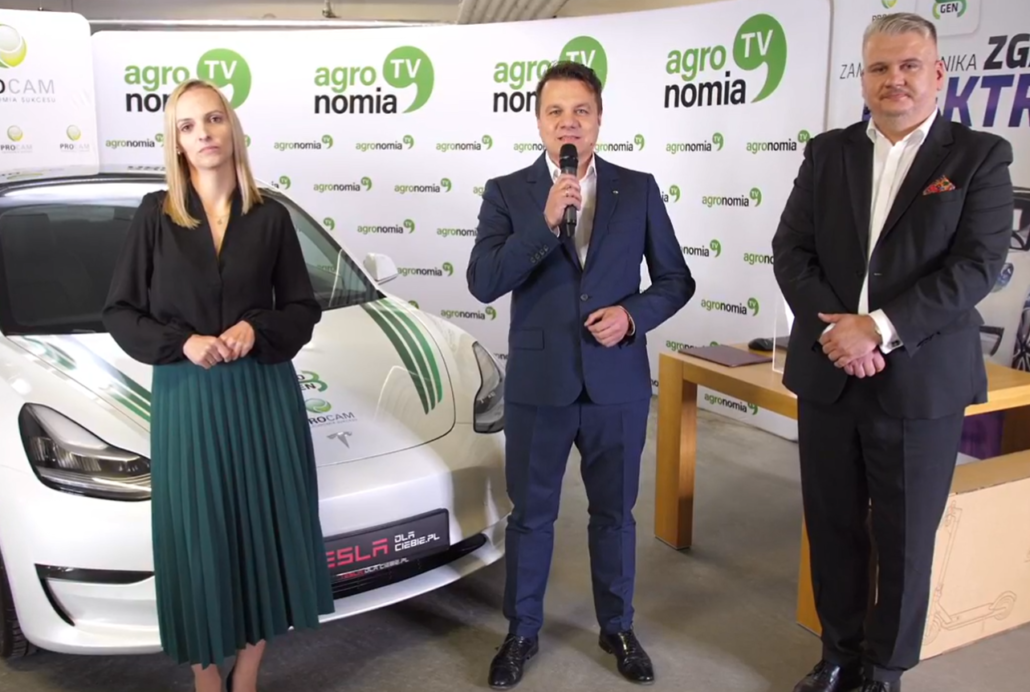 Prezes Zarządu BIO-GEN Ewa Kaniowicz oraz Prezez Zarządu PROCAM POLSKA Michał Ciszak